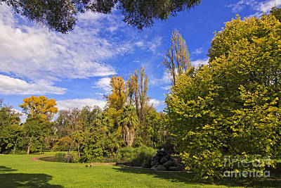 Photograph - Fitzroy Gardens In East Melbourne Australia by Beverly Claire Kaiya