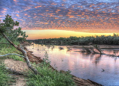 Photograph - Fitzroy River by Ian  Ramsay