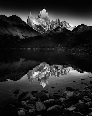 Pebbles Photograph - Fitzroy Splendor At Dawn by Phil Green