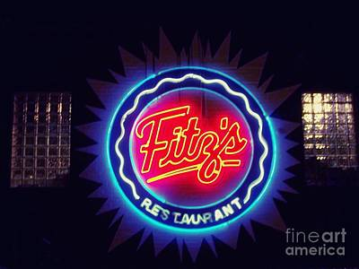 Photograph - Fitz's Restaurant 2 by Kelly Awad