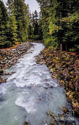 Photograph - Fitzsimmons Creek by Jon Burch Photography