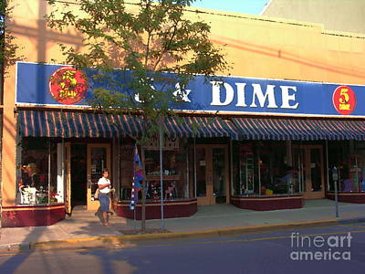 Photograph - Five And Dime by Jacqueline M Lewis