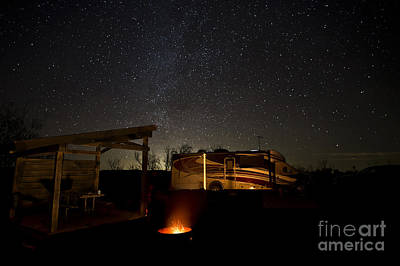 Photograph - Five Billion Star Hotel by Melany Sarafis