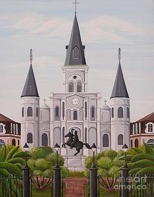 Painting - Five Fifteen In New Orleans by Valerie Carpenter