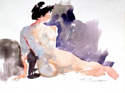 Five Minute Nude Art Print