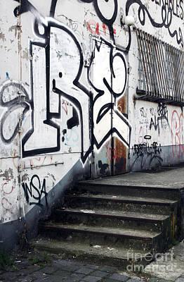 Five Stairs Art Print