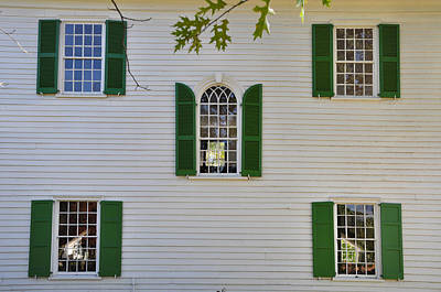 Five Windows Art Print by Bill Cannon
