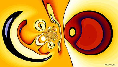 Freud Digital Art - Fixation by Richard Kelly