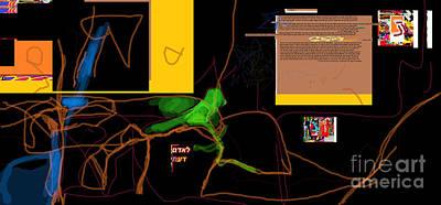 Inner Self Digital Art - Fixing Space 1b by David Baruch Wolk