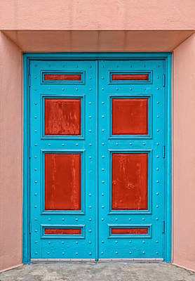 Photograph - Door With No Handles by Frank J Benz