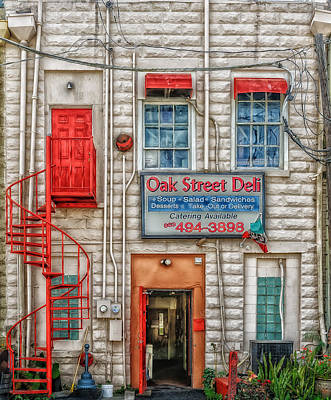 Photograph - Oak Street Deli by Frank J Benz