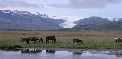 Photograph - Flaajokull by Christian Zesewitz