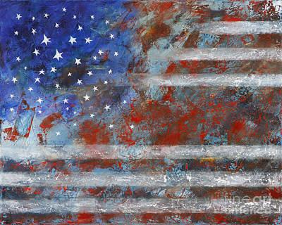 Flag 2012 Art Print by Eva Hoffmann