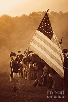 Photograph - Flag Carrier by Kim Henderson