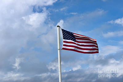 Photograph - Flag by David Arment