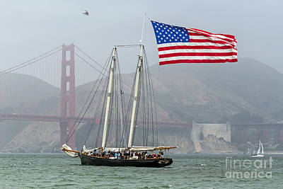 Photograph - Flag Ship by Kate Brown