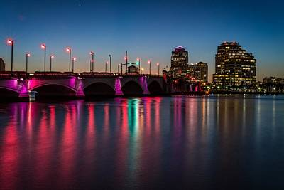 Photograph - Flagler Bridge Awareness by Lynn Bauer