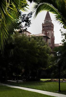 Photograph - Flagler College St Augustine Florida by Bob Pardue