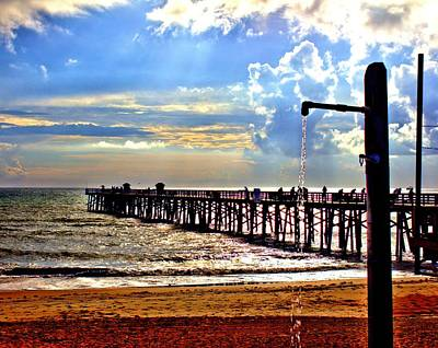Photograph - Flagler Pier Heaven by Tyson Kinnison