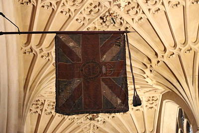 Photograph - Flags Flying In The Abbey by Denise Cicchella