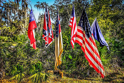 Flags Of 1860 Original by Chris Smith