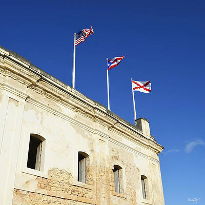Photograph - Flags Of San Christobal by Shanna Hyatt