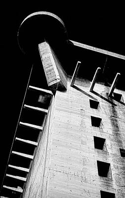 Photograph - Flakturm L Tower Augarten Vienna by Menega Sabidussi
