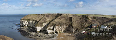 Flamborough North Landing Art Print