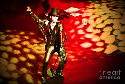 Photograph - Showman by Marguerita Tan