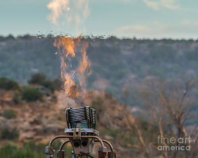 Texas Photograph - Flame by Ashley M Conger