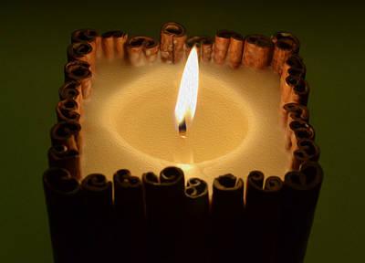 Flame Candles Art Print by Jozef Jankola
