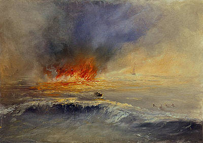 Painting - Flame by David Figielek