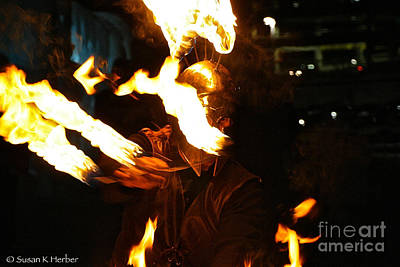 Photograph - Flame Gamer by Susan Herber