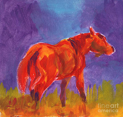 Painting - Flame by Linda L Martin