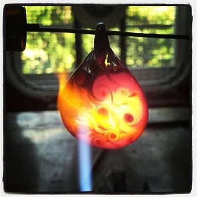 Flameworking Glass Art - Flame Polishing by Deenie Wallace