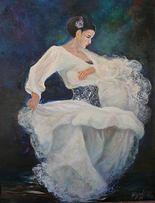 Painting - Flamenco 2 by Sylva Zalmanson