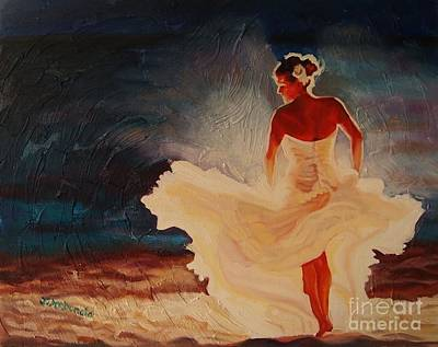Painting - Flamenco Allure by Janet McDonald