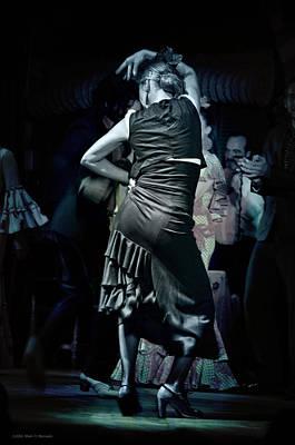 Attitude Digital Art - Flamenco Dancer #16 - Attitude by Mary Machare