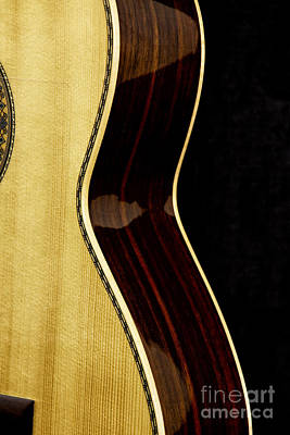 Poster Photograph - Flamenco Guitar by Eyzen M Kim