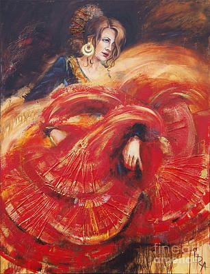 Flamenco Original by Ira Ivanova