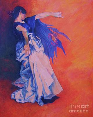 Dagmar Painting - Flamenco-john Singer-sargent by Dagmar Helbig
