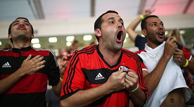 Photograph - Flamengo V Palmeiras - Brasileirao by Mario Tama