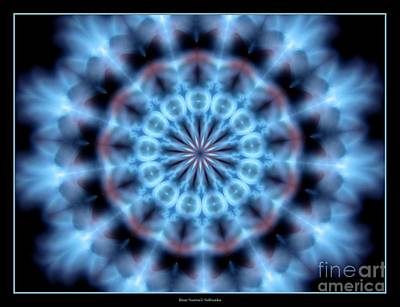 Photograph - Flames Kaleidoscope 4 by Rose Santuci-Sofranko