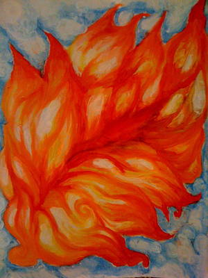Painting - Flames by Lydia Erickson