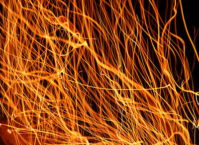 Photograph - Flames by Mike Murdock