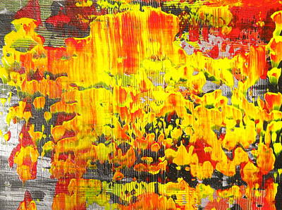 Painting - Flames Of Abstract 1 by Dylan Chambers