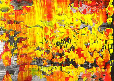 Painting - Flames Of Abstract 2 by Dylan Chambers