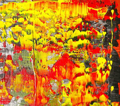 Painting - Flames Of Abstract 3 by Dylan Chambers