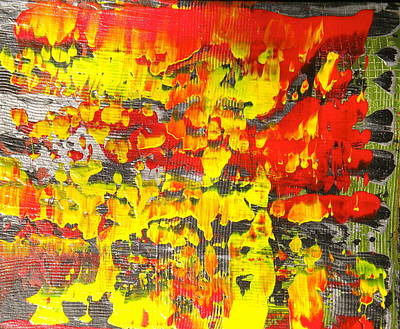 Painting - Flames Of Abstract 5 by Dylan Chambers