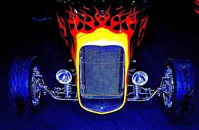 Photograph - Flamin' Hot by Bob Wall